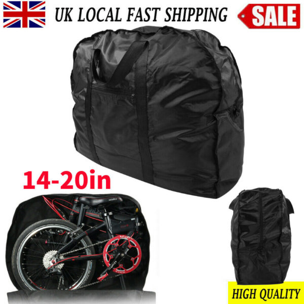 Waterproof Folding Bike Carrier Bicycle Transport Storage Bag Dust Cover 20inch