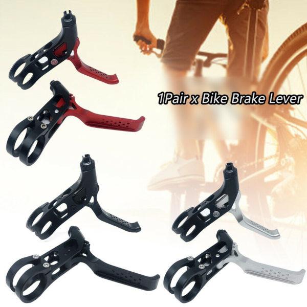 1pair Universal Bike Brake Lever Aluminum Alloy Road Lightweight Folding Bicycle