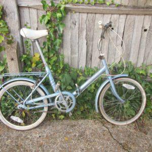 "Vintage Hercules Compact Folding Bike - 20"" Tyres"