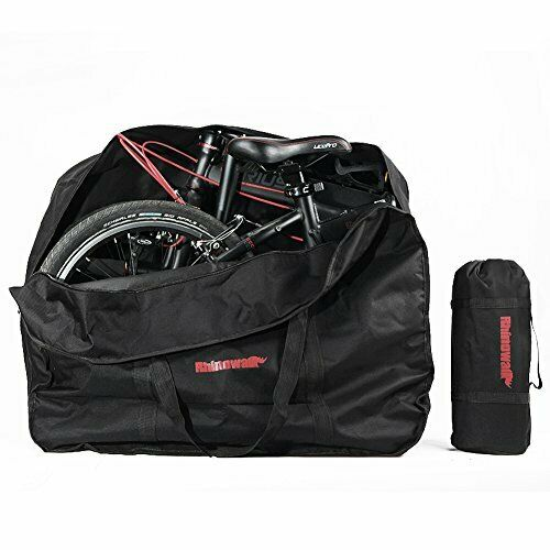 Selighting Folding Bike Travel Bag Bicycle Carrier Case Outdoors Carrying Bag