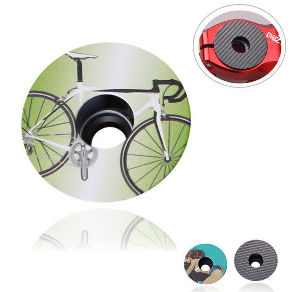 "1-1/8"" Bicycle Headset Cover Folding Bike Lightweight MTB Bike Stem Top Cap"