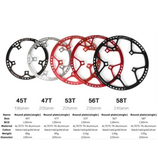 Replacement Crankset Components Parts Folding Bicycle Bike Aluminum Alloy