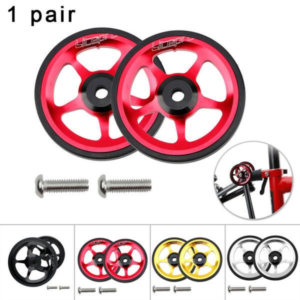For Brompton Folding Bike Cart wheel Parts High-Grade Durable High quality
