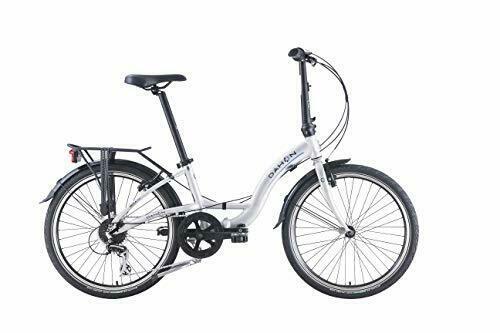 DAHON 8 Speed Briza D8 Folding Bike | Aluminium, Grey, 24 inch
