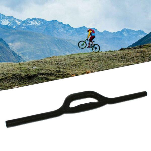 Handlebars Black Riser Bar Mountain bike Folding Bike 560/580mm Butterfly handle