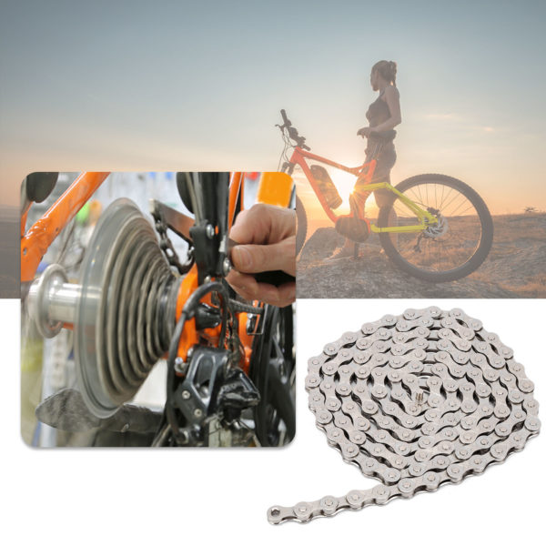 Hot Mountain Road Folding Bike Chain 6/7/8Speed Chain Combination Set Bicycle