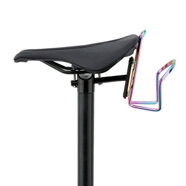 Corrosion Resistant Folding Bike Bottle Cage Seat Holder Durable Aluminium Alloy