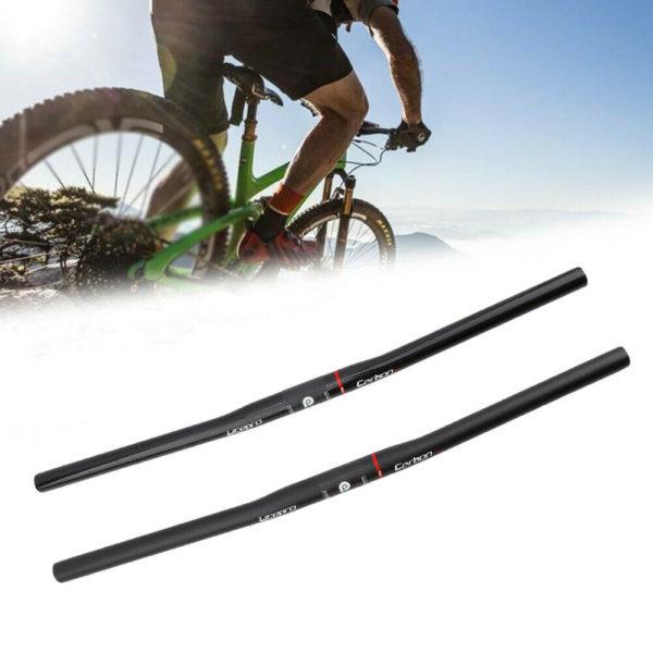 Folding Bike Handlebar 580mm Component Carbon Fiber Bicycle Cycling Hot