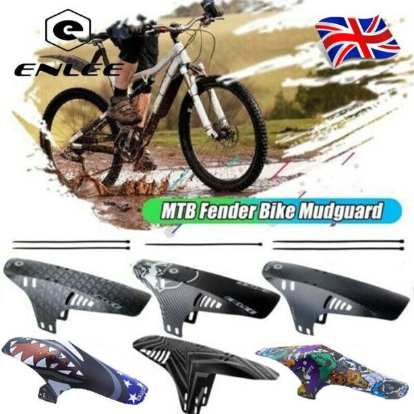 ENLEE Bicycle Front Or Rear PP5 Fender MTB/Road/Folding Bike Ultralight Mudguard
