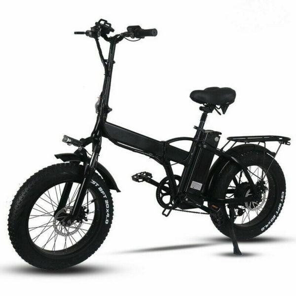 "Electric Folding Bicycle eBike 48V 15Ah 750W PAS 20"" 31km Speed 80km Range"