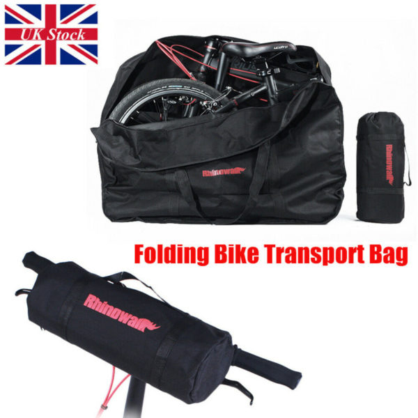 Portable Folding Bike Bicycle Carrier Bag Carry Transport Travel Bag Pouch Case