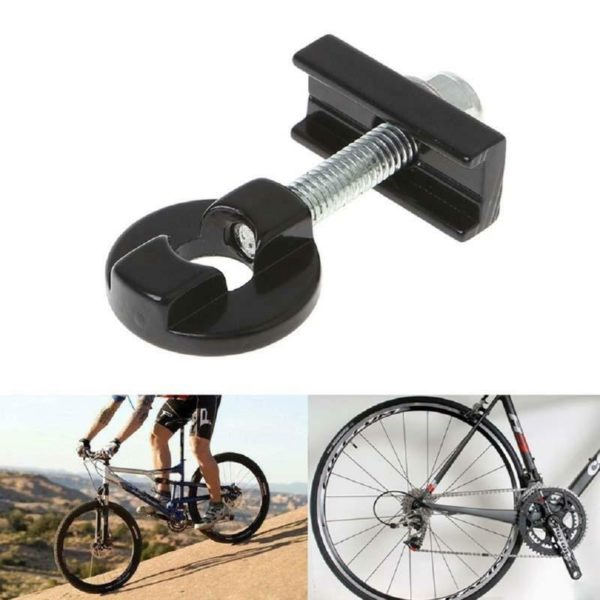 Folding Bike Aluminum Alloy Chain Tensioner Fastener Adjuster Y2