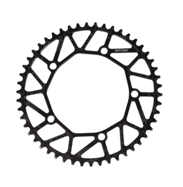 Durable Al Folding bike Small Wheel Road cycling Chainring 50T-58T BCD: 130mmNEW