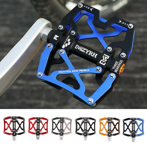 Sealed 3 Bearing Pedal CNC Cycling Mountain Folding Bike Aluminum Alloy Supplies