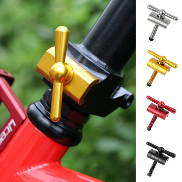 Folding bicycles Buckle Lightweight Aluminum alloy Black Red Accessories