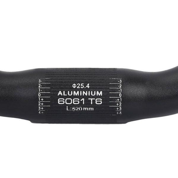 Folding Bicycle Handlebar Bike Handlebar for Clamp 25.4mm Mountain Bike