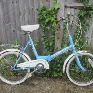 "Vintage Universal Uni Sport Folding Bike - 20"" Tyres"