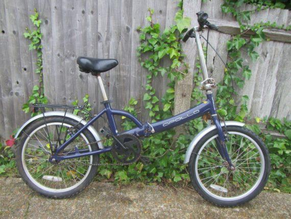 """Apollo Folding Bike - 20"""" Tyres"""