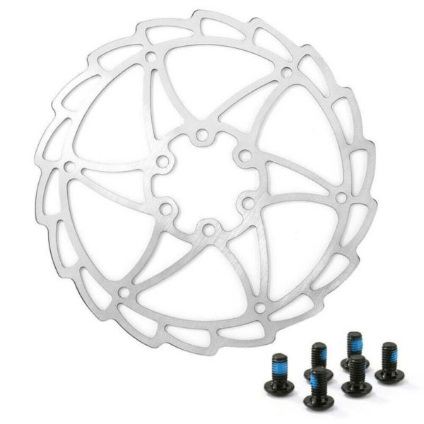 Cycling Disc Brake Rotor Components Mountain Folding Bike bicycle 6 Holes