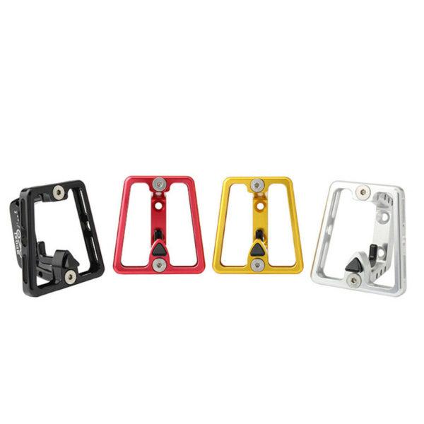 Aluminum Alloy Folding Bike Front Carrier Block Bag Bracket Holder For Brompton