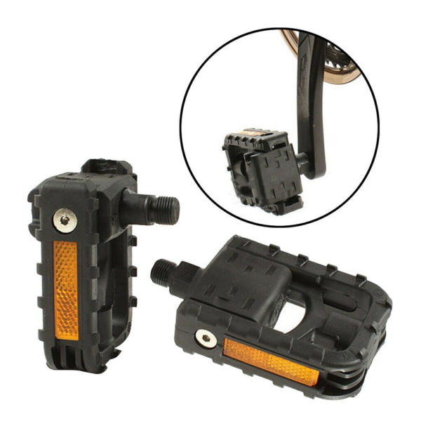 1 Pair Folding Bike Pedal Cycling Mountain  Pedals High Strength