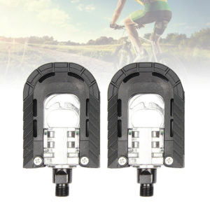 1 Pair of Universal Mountain Folding Bike Pedal Aluminum Alloy Pedal