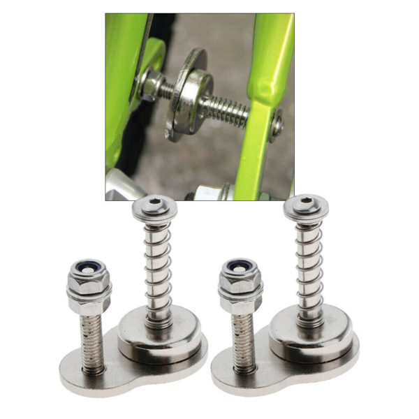 2 Sets Folding Bike Magnetic Buckle Snap Holder Lock for Fold Bicycle Storage