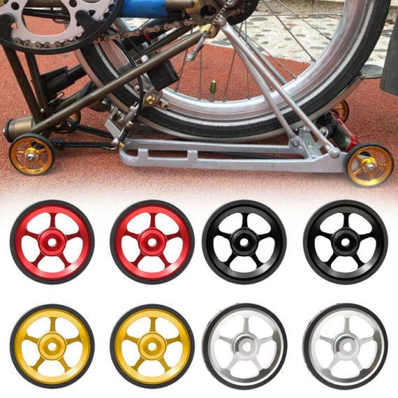 Super Light Folding Bike Easy Wheels Aluminum Alloy Durable For Brompton