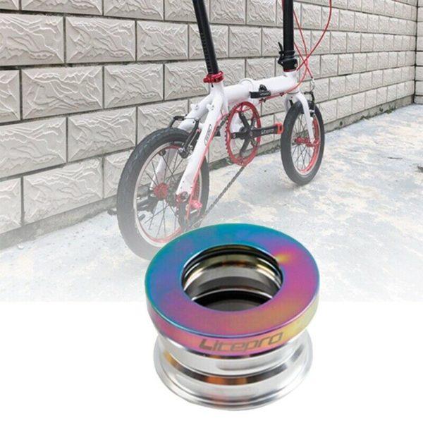 Litepro Folding Bike Headset Aluminum Alloy CNC Bicycle Headset Replacement V6S2