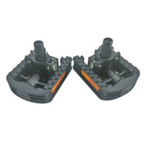1 PAIR FOLDING BIKE PEDALS FOLDERS COMMUTING MTB ROAD BICYCLE FLAT PEDALS 9/16""