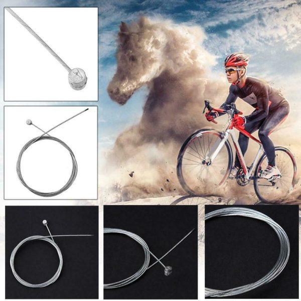 MTB Road Folding Bike Bicycle Brake Cable Core Inner Wire Steel Speed Line UK