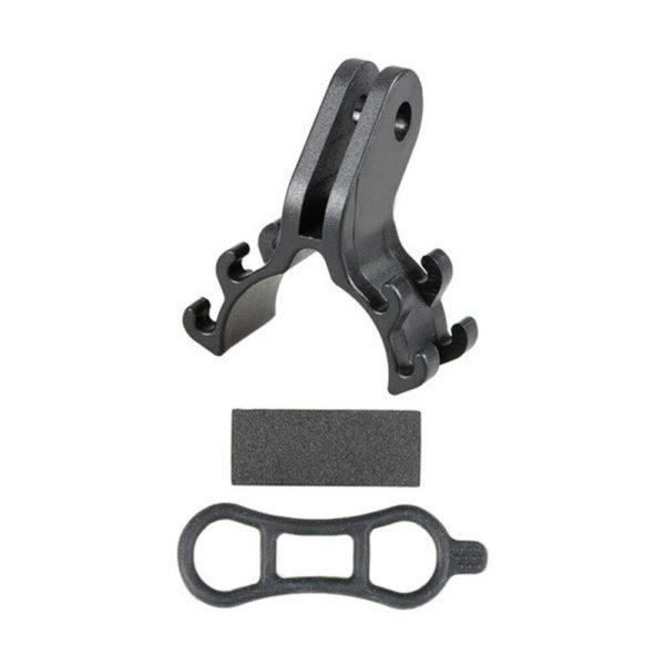 Folding bicycle Bicycle flashlight bracket Racing Number Plate Mount Holder