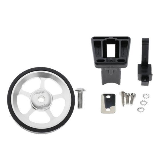 Folding Bike Alloy Easy Wheel Modified Easy Wheel & Front Carrier Block Adapter