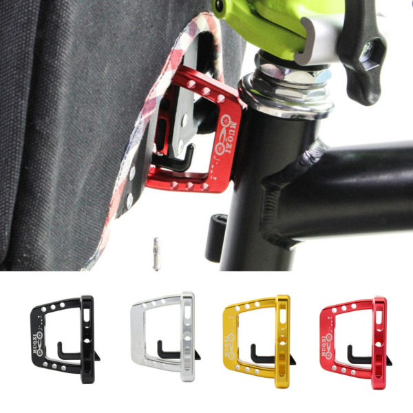 Folding Bike Front Carrier Block Bracket Adapter Mount Holder For Brompton Cycle