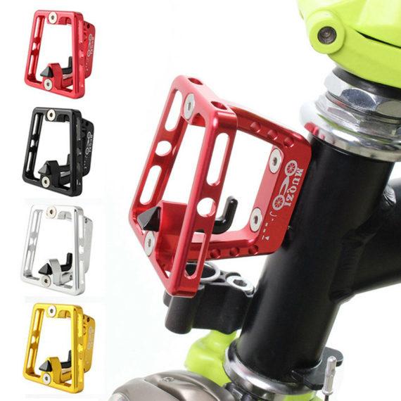 Ultralight Folding Bike Front Carrier Block Bracket Mount for Brompton Accessory