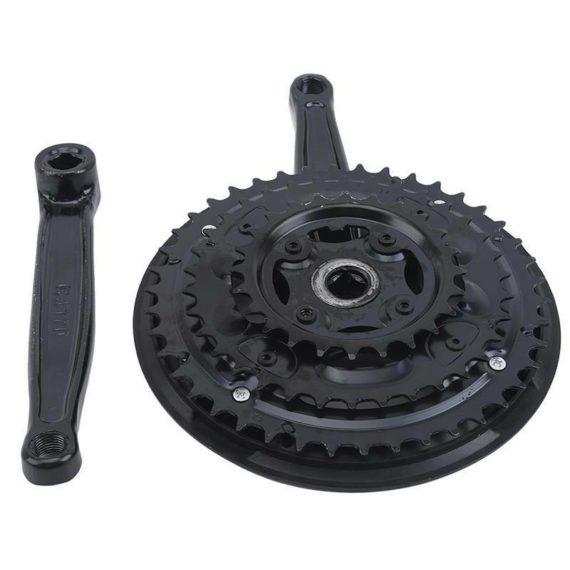 Black Mountain Bike Crankset Variable Speed Roulette Folding Bike 1pc 42 Teeth J