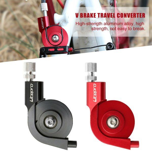 Bicycle V Brake Adapter Converter to Caliper Brake Adaptor For Folding Bike