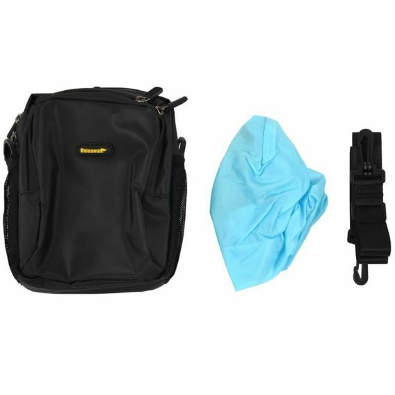 RHINOWALK 4L Bicycle Handlebar Bag Full Waterproof Folding Bike Front Bag E K7I3
