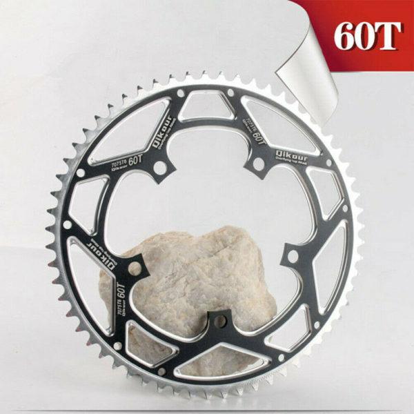Aluminum Alloy 60T Chain Wheel BCD130 MTB Road Bike Folding Bicycle Chainring