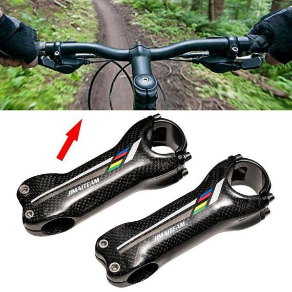 JIMAITEAM Bike Stems Full carbon fiber 70-130mm High quality Folding bike