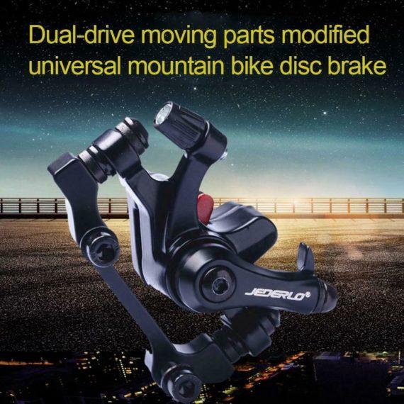 Bicycle 160/180mm Rotor Folding Bike Mechanical Disc Caliper H8E9 Brake E0V6
