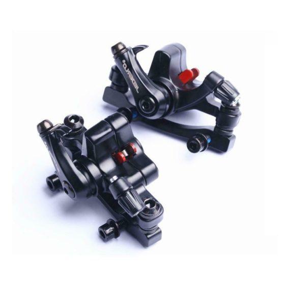 Bicycle 160/180mm Rotor Folding Bike Mechanical Disc Caliper M6*16 Brake R0V5
