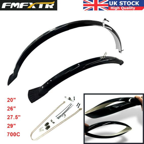 """MTB/Folding Bike Fender 20/26/27.5/29"""" Full Length Mudflap Ultralight Bike Part"""
