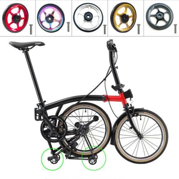 Cycling Bike Easy Wheels Folding Bicycle Modification Refit For Brompton Wheel