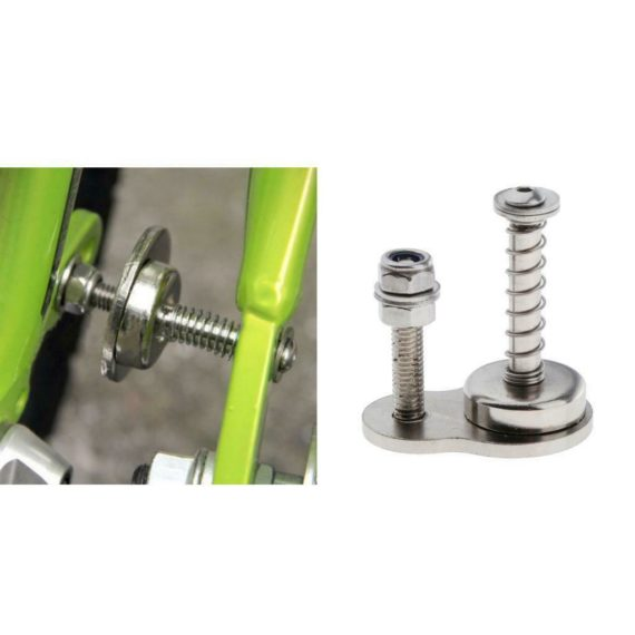 Folding Bicycle Storage Metal Magnetic Buckle Carrying Locking Fixing Retainer