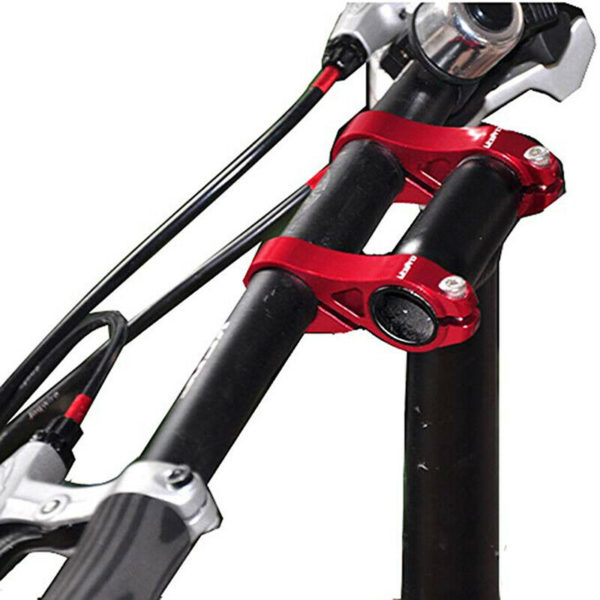 1PC Extender Handlebar Double Stem Alloy Retrofit Riser Folding Bike Lin