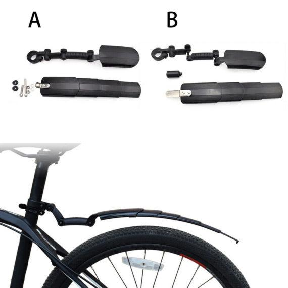 Telescopic Mudguard Fender Ultralight Retractable Folding Bike Bicycle Parts
