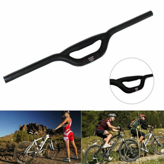 25.4mm Handlebars Carbon Fiber Mountain bike Folding Bike New Practical