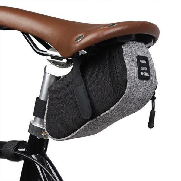 Folding Bike Waterproof Bicycle Saddle Bag Mountain 1Pc Cycling Seat Pouch HD