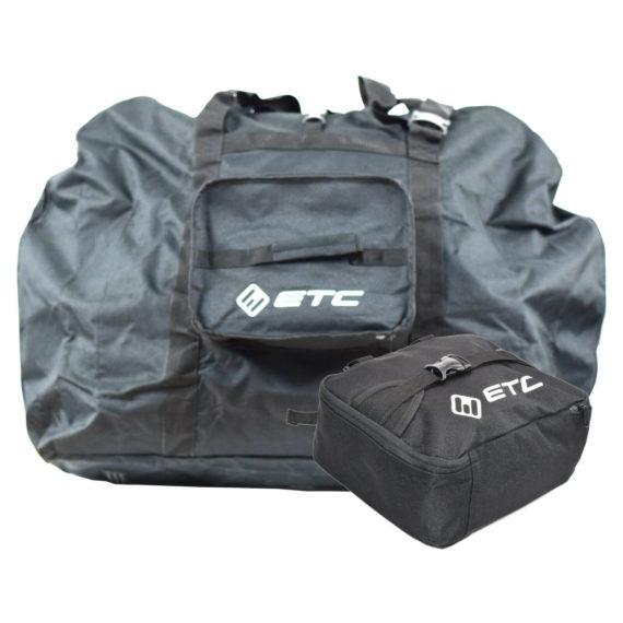 "ETC Cycling Folding Bike Black Storage Carry Bag for 20"" Wheel Folding Bikes"